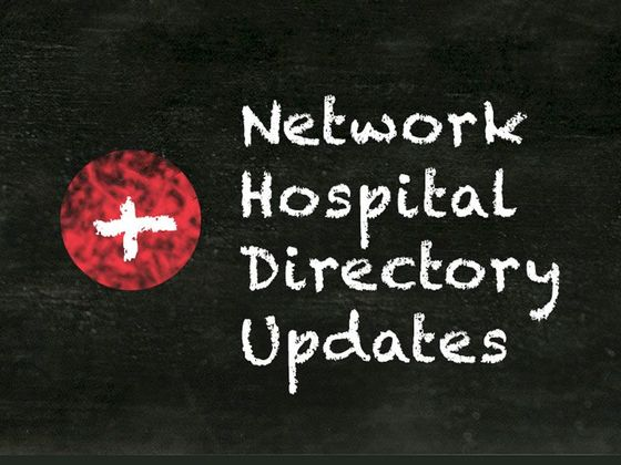 Network Hospital Directory Updates for AARP Medicare Select Plans