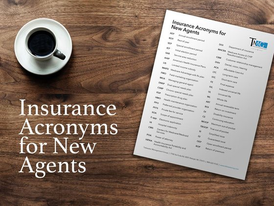 Download: Insurance Acronyms for Agents