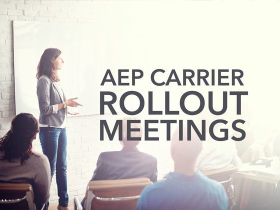Upcoming Carrier Meetings