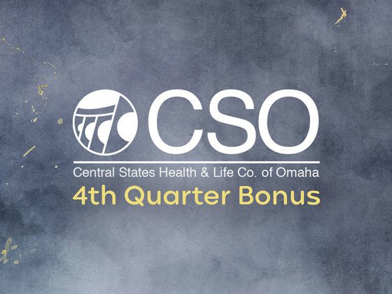 CSO 4th Quarter Bonus