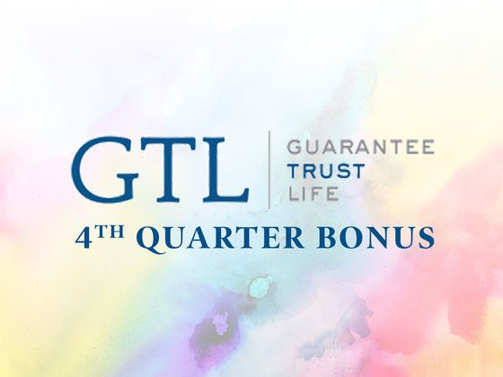 GTL's 4th Quarter Bonus