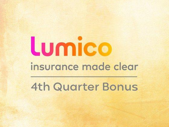 Lumico 4th Quarter Bonus