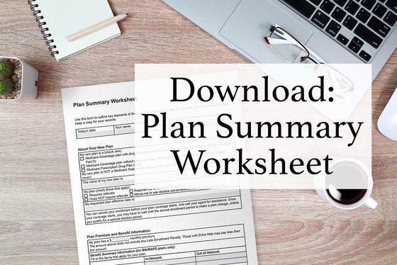 Download: Plan Summary Worksheet