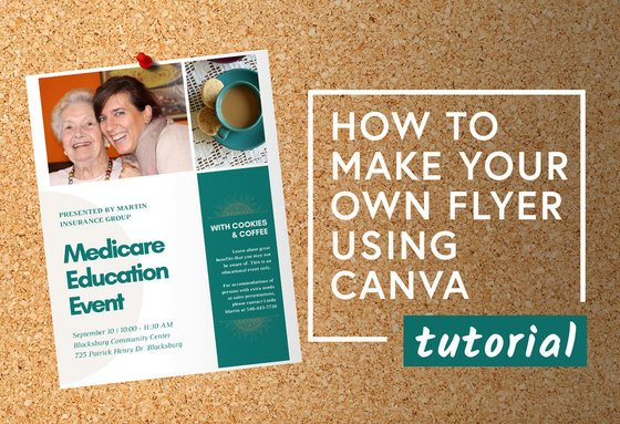 How to Make Your Own Flyer Using Canva | Tutorial
