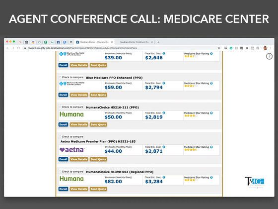 Agent Conference Call: Medicare Center